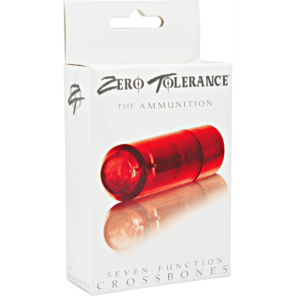 Zero Tolerance Crossbones Ammuniton Clear Red - View #1