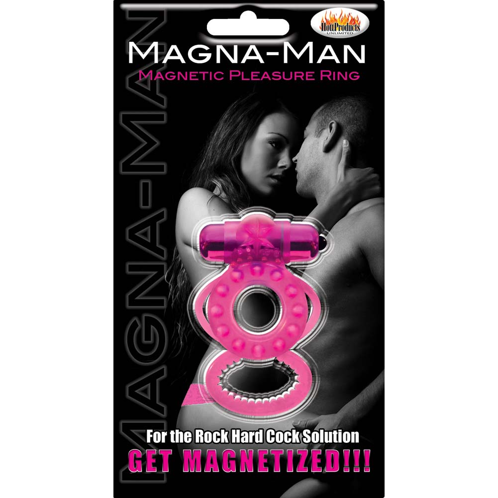Hott Products Magna Man Magnetic Ring Magenta - View #1
