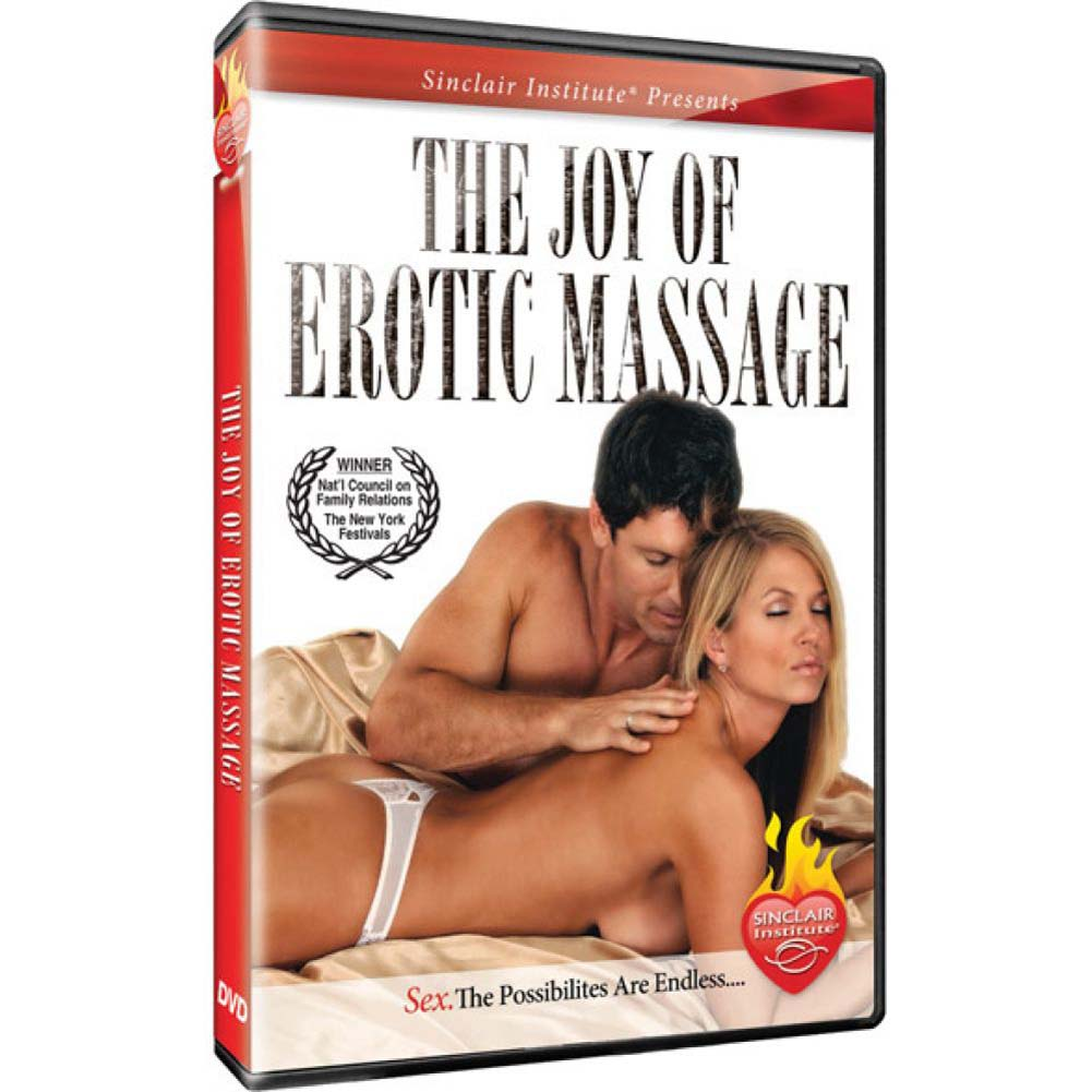 Sinclair Institute SizzleThe Joy of Erotic Massage DVD - View #1