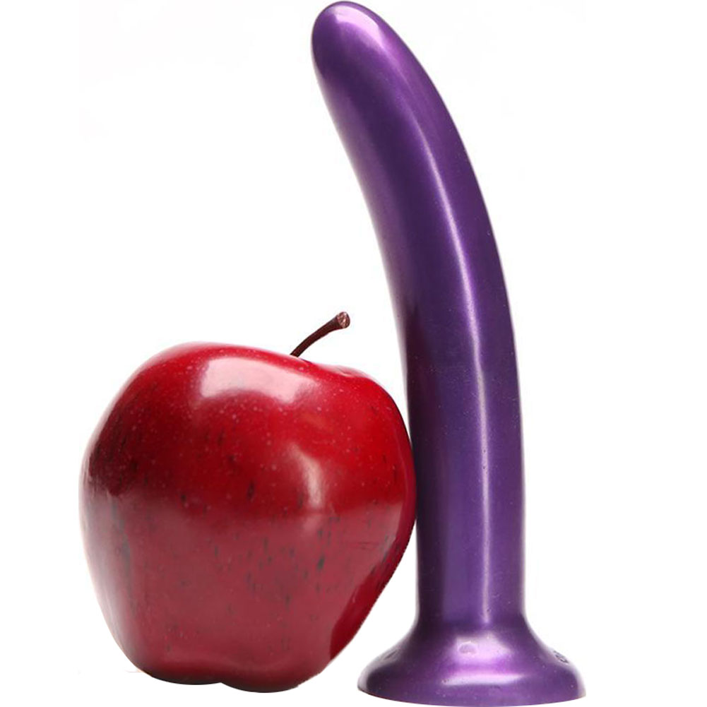 "Tantus Leisure Silicone Vibrating Dildo 7"" Purple - View #1"