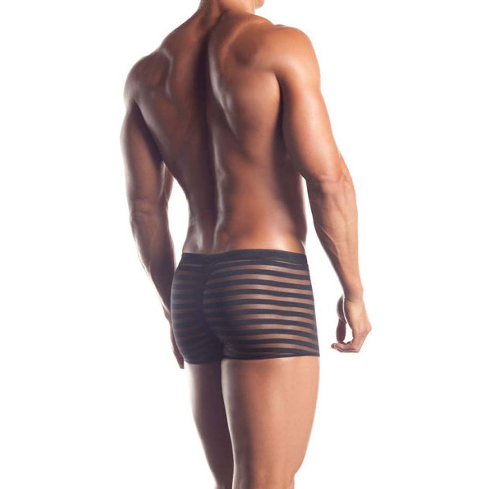 Joy Hollywood Excite Extreme Series Striped Mesh Boxer One Size Black - View #2