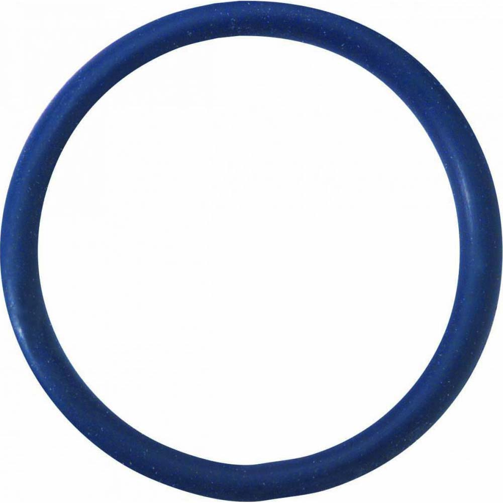 "Spartacus Soft Rubber Cockring 2"" Blue - View #2"