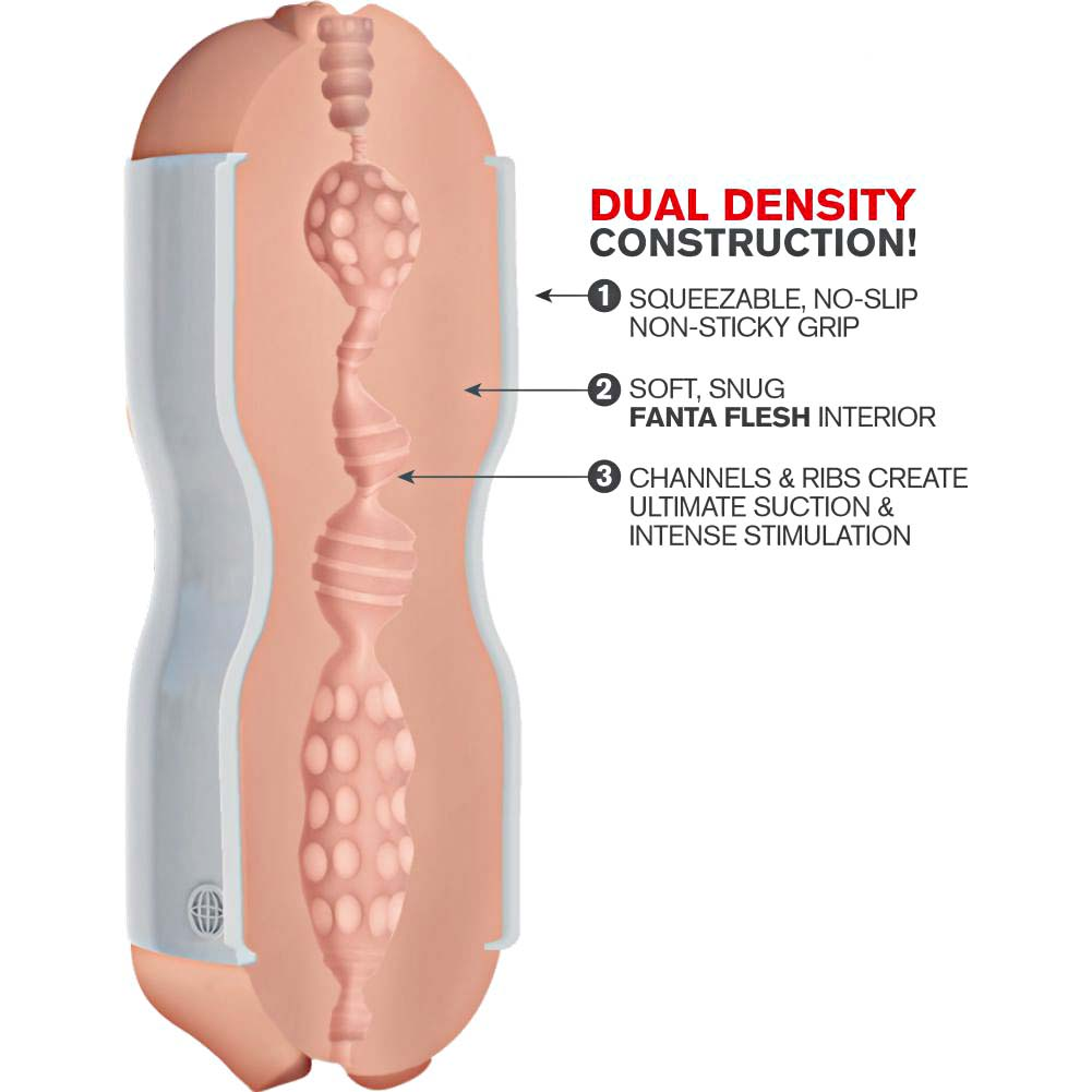 Pipedreams Extreme Toyz Tight Grip Dual Density Squeezable Stroker Pussy and Mouth - View #1