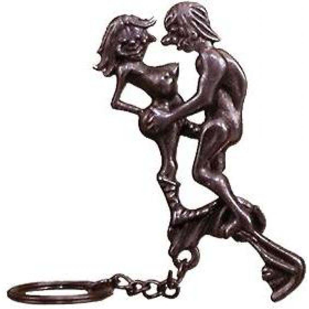 Pipedream X-Rated Missionary Position Couple Metal Keyring 12 Pieces - View #1