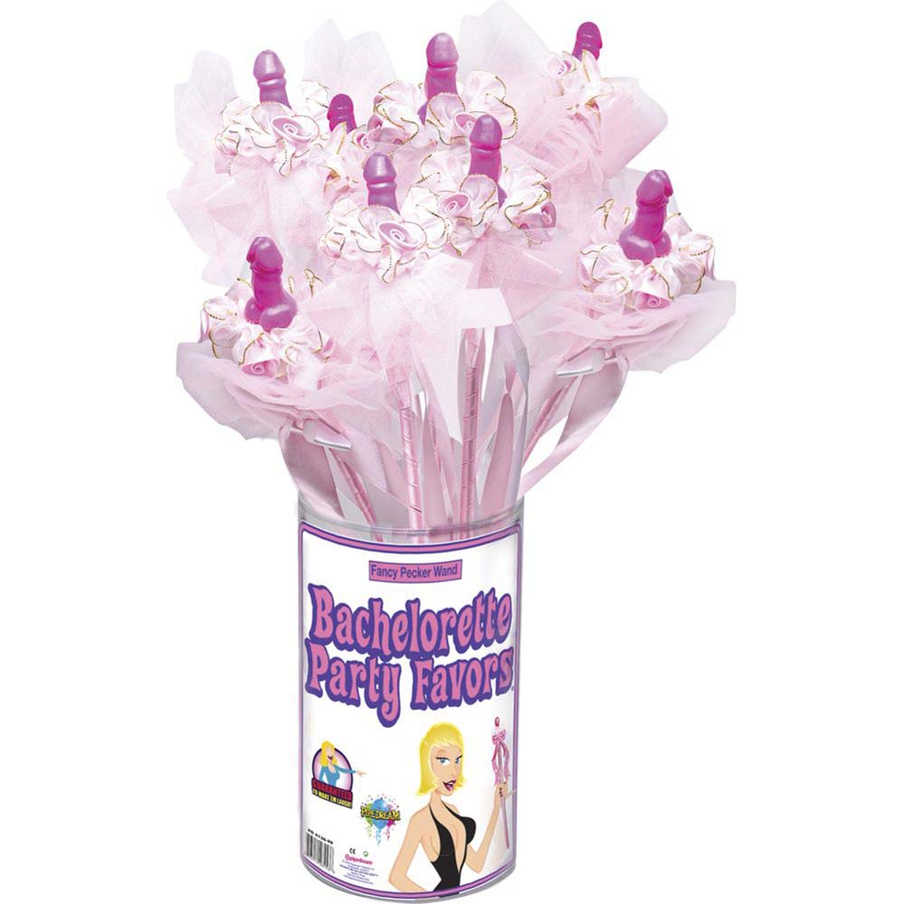 Bachelorette Party Favors Fancy Pecker Wand 12 Piece Display - View #2