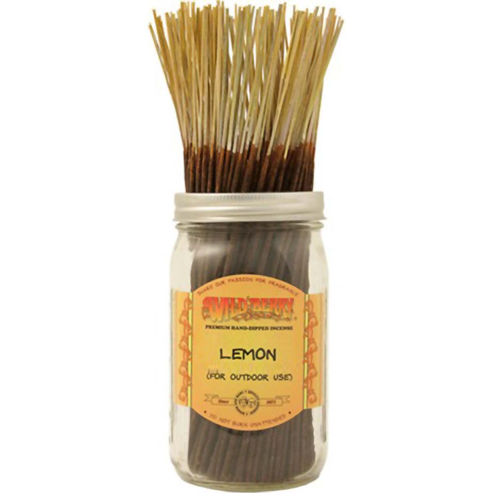 Wildberry Incense Lemon 100 Count Bundle - View #1