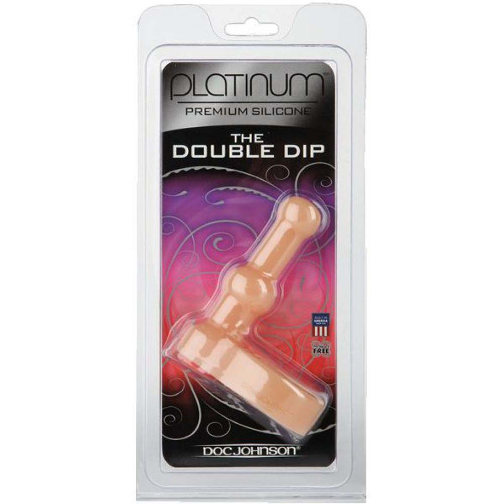 Platinum Silicone Double Dip White - View #3