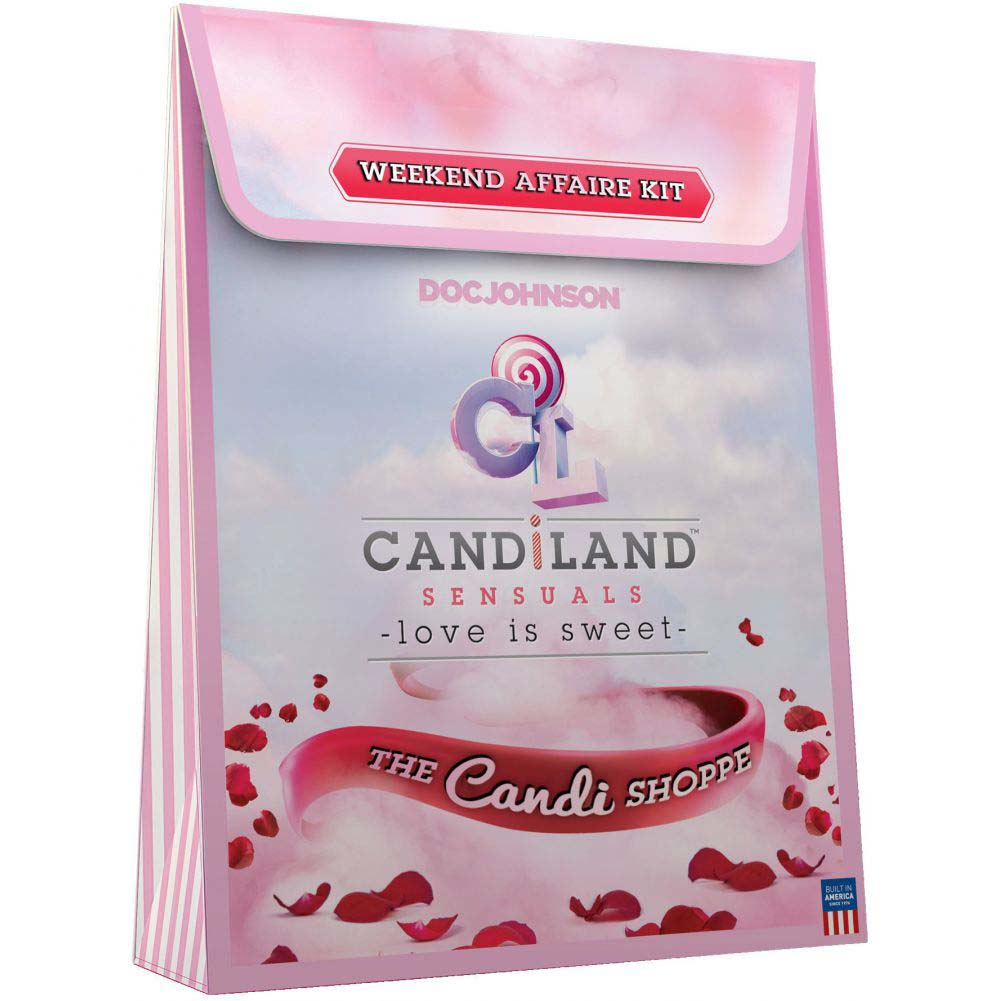 CANDiLAND Sensuals the Weekend Affaire Kit with Lubes and Vibro Bullet - View #1