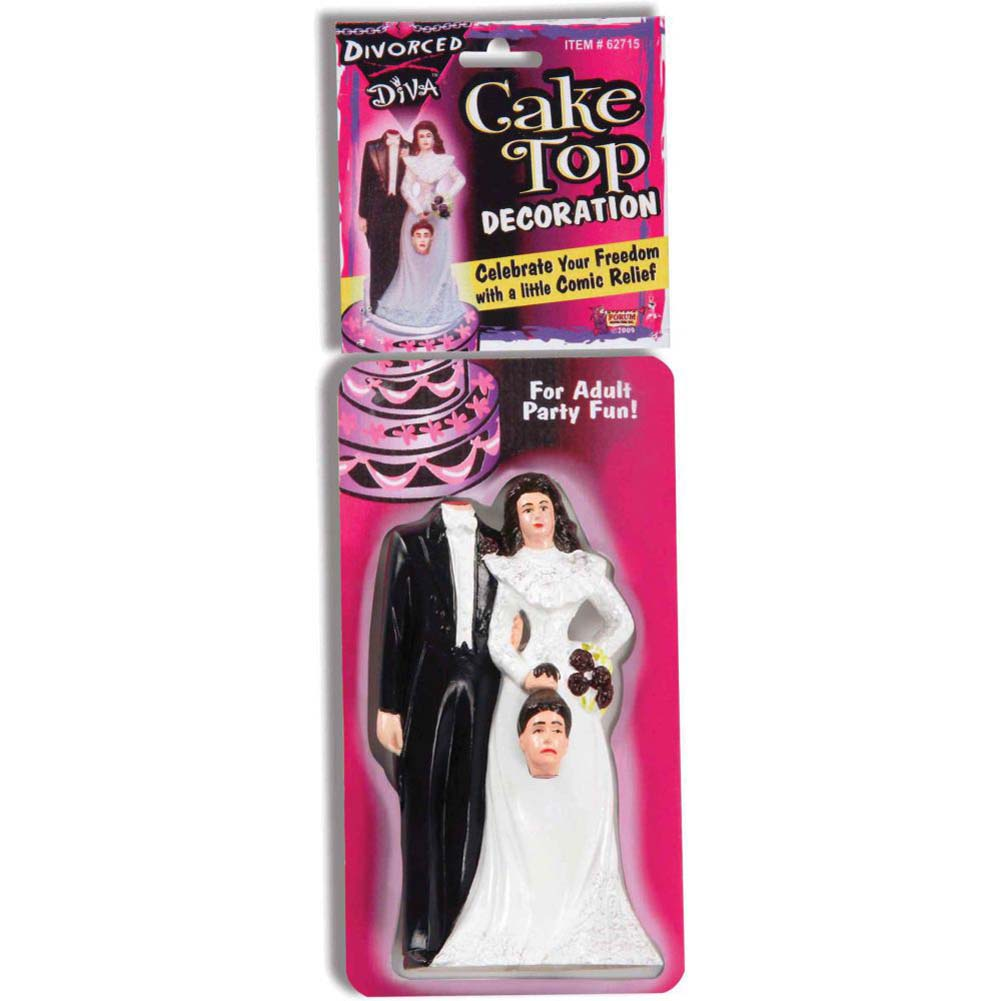 Divorced Diva Cake Topper - View #2