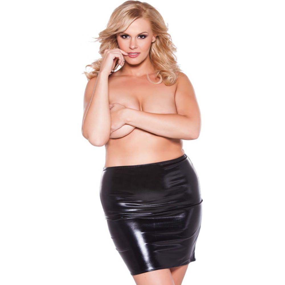 Kitten Sexy Siren Skirt Black Queen - View #1