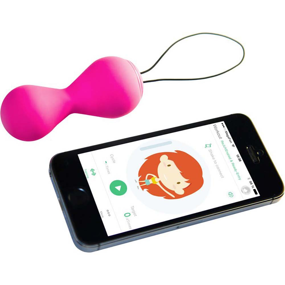 Fun Toys G Balls 2 with App Silicone Pelvic Kegel Trainer Petal Rose - View #2