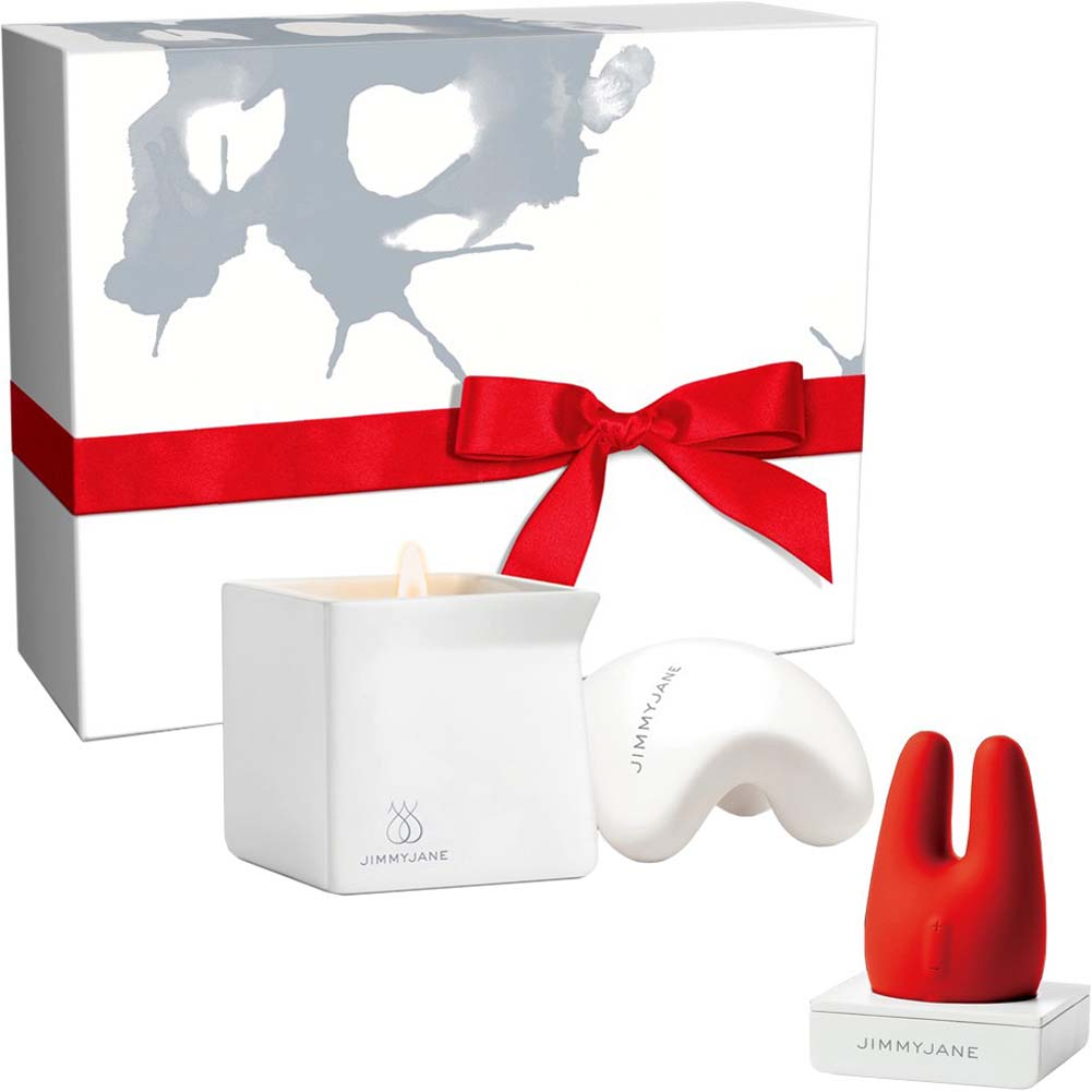 JimmyJane After Dark Sensual Gift Set Form 2 Vibe Massage Candle and Hand Massager - View #2