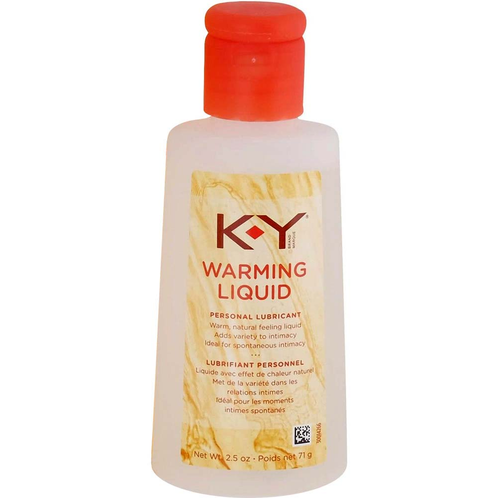 K-Y Warming Liquid Personal Lubricant 2.5 Oz Bottle - View #1