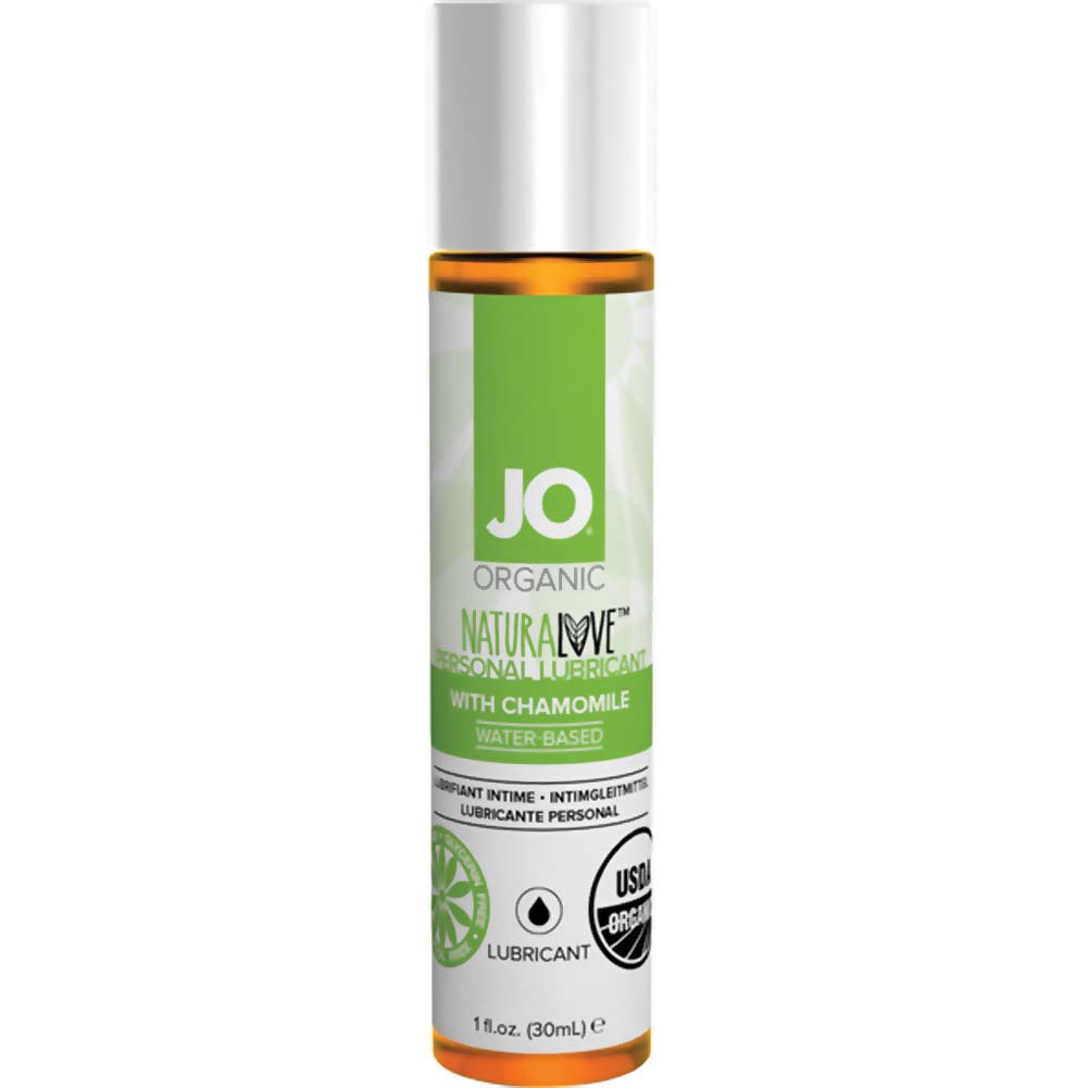 JO NaturaLove USDA Organic Personal Lubricant with Chamomile 1 Fl.Oz 30 mL - View #1