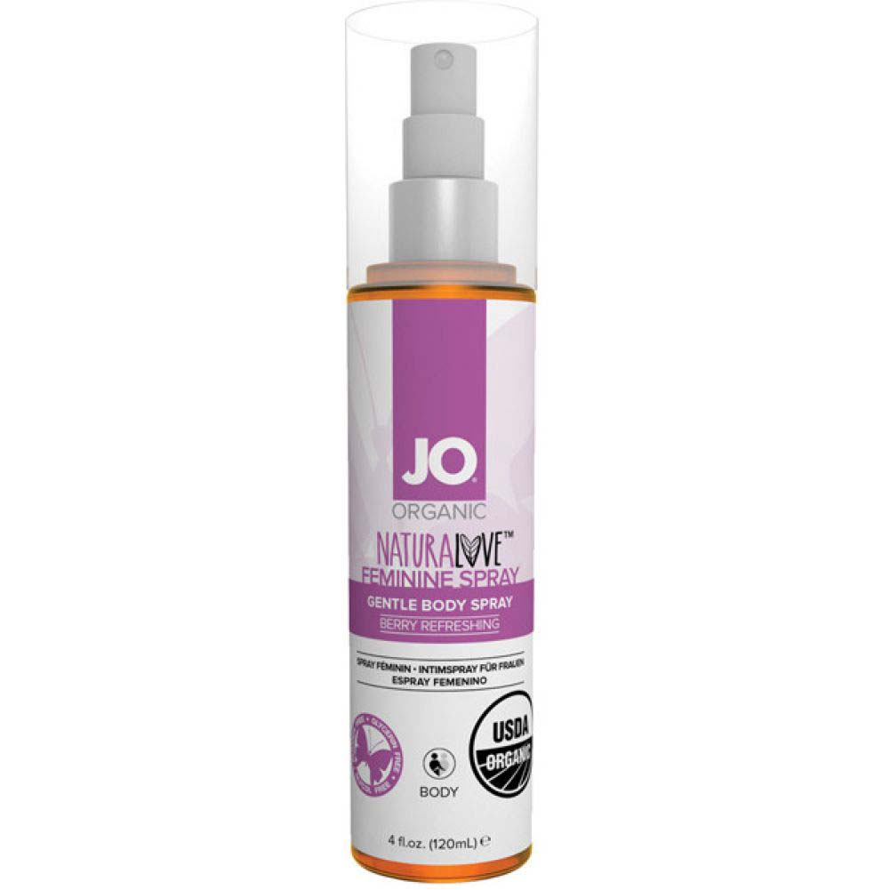 JO NaturaLove USDA Organic Feminine Spray 4 Fl.Oz 120 mL Berry Refreshing - View #1