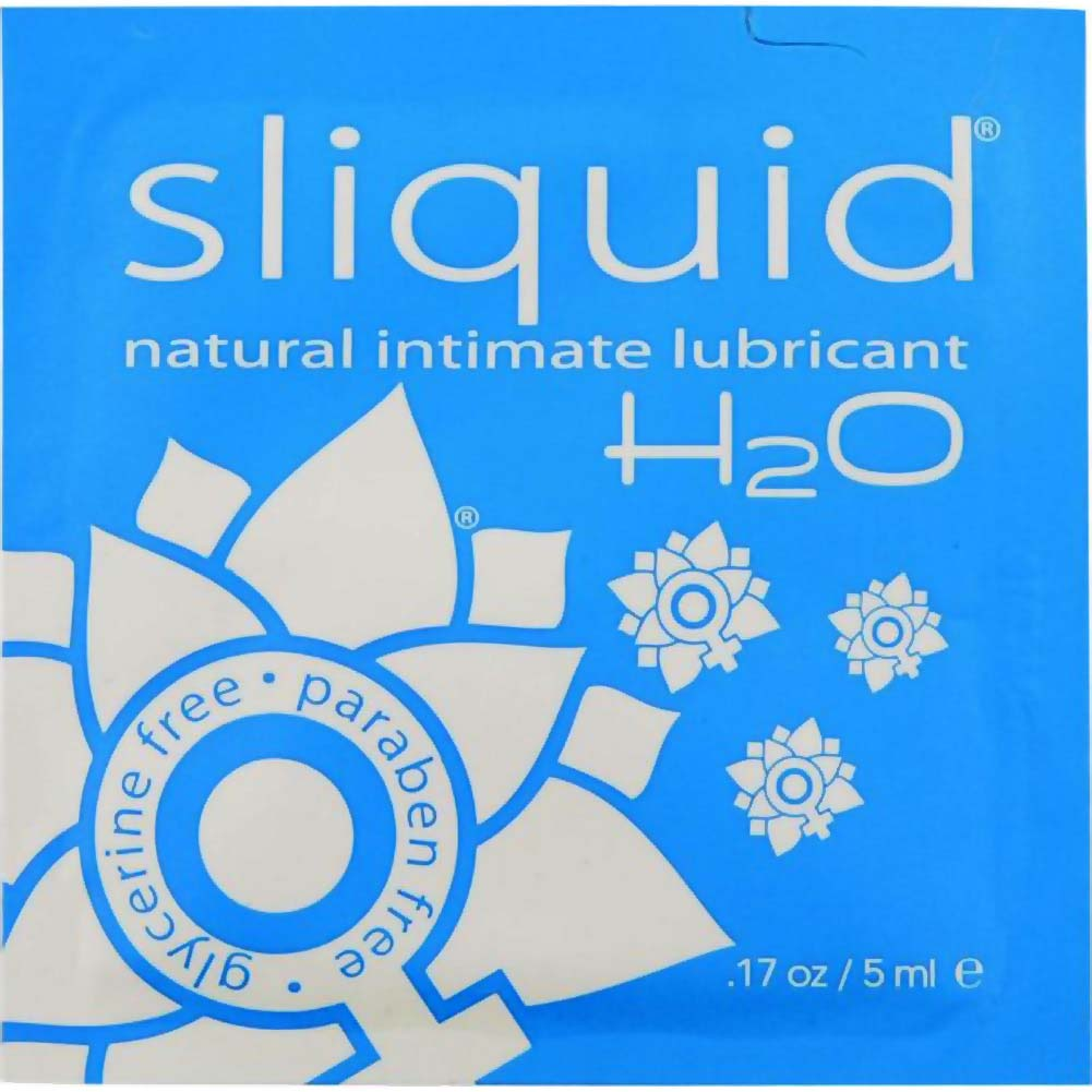 Sliquid Essentials Lubricant Sampler Pack Box 12 Pillows of 0.17 Fl.Oz 5 Ml - View #1
