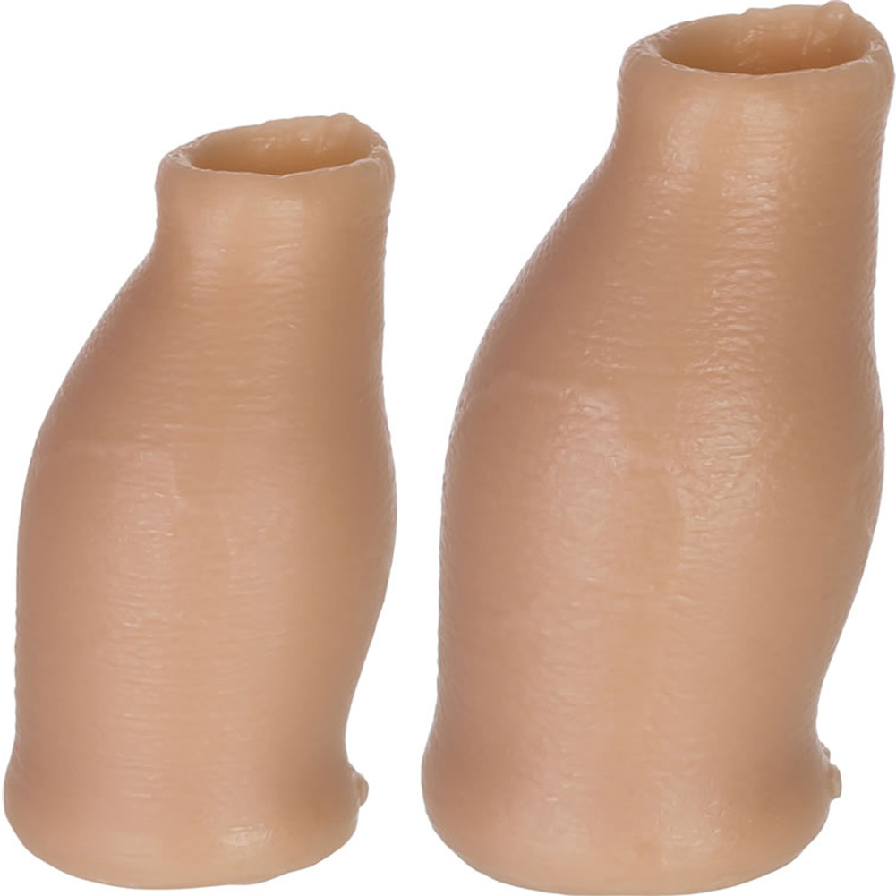 Oxballs Moreskin Silicone Foreskin Hoods Small Medium Light - View #1