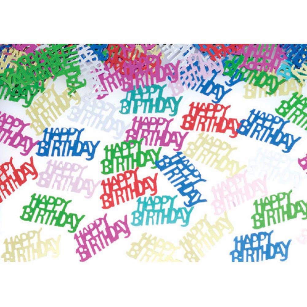 Forum Novelties Happy Birthday Confetti - View #1