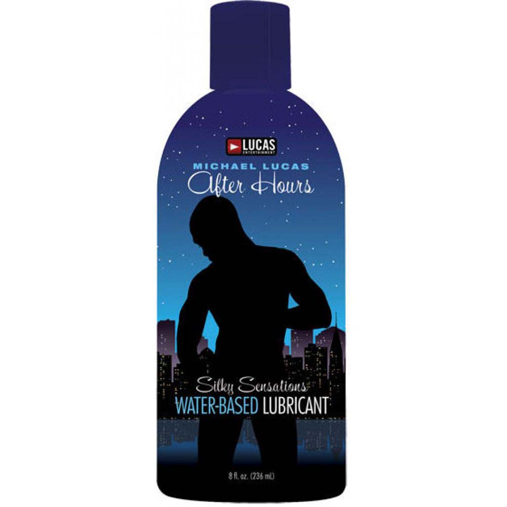 Lucas Entertainment After Hours Silky Sensations Water Based Lubricant 8 Fl. Oz. 237 mL - View #1