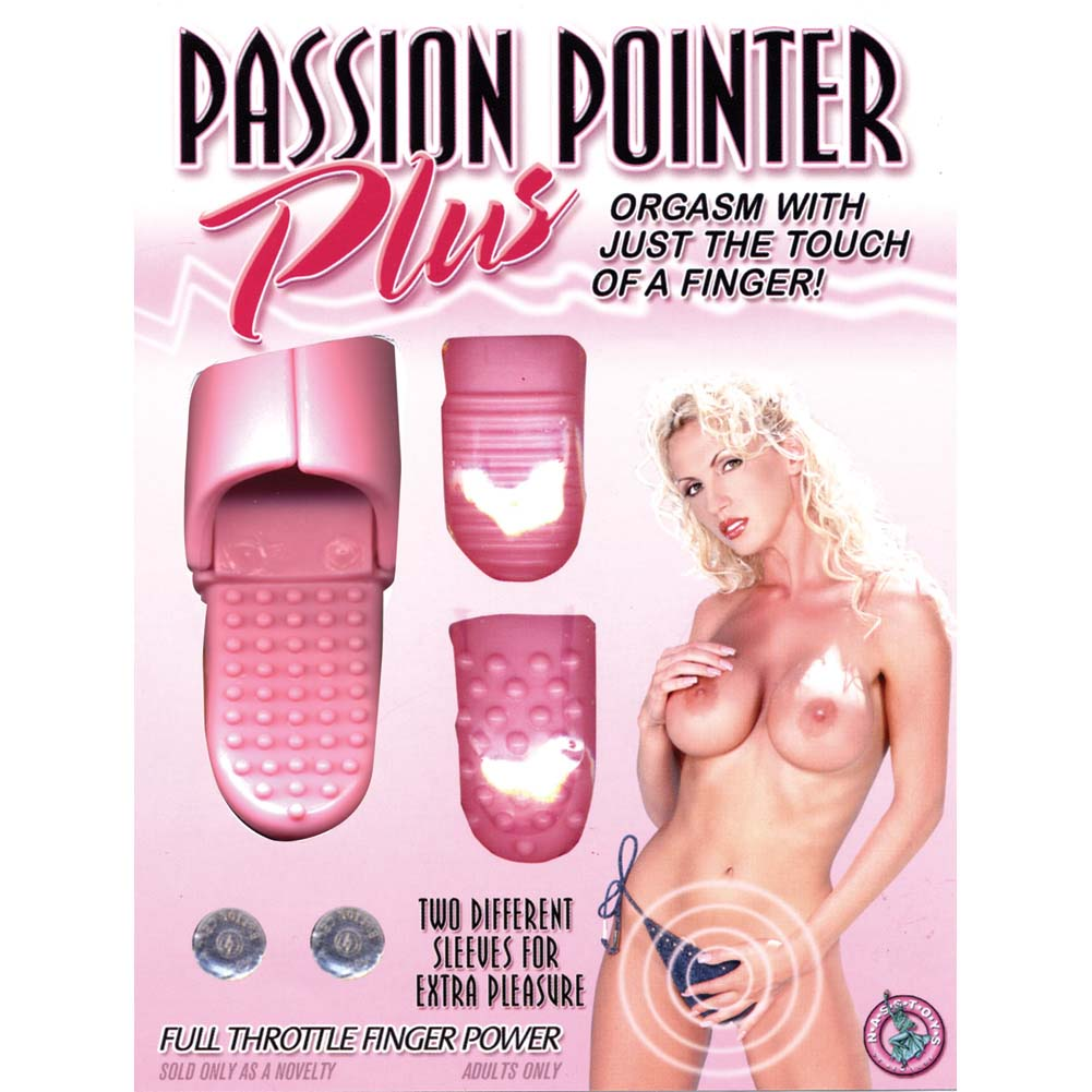 Passion Pointer Plus Vibrating Finger Vibe Pink - View #4