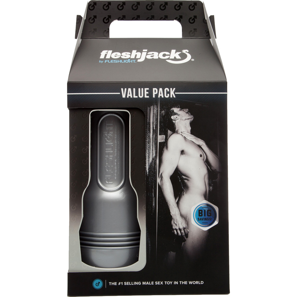 Fleshlight Fleshjack Endurance Value Pack with Stroker Lubricant Renewing Powder and Cleaner - View #4