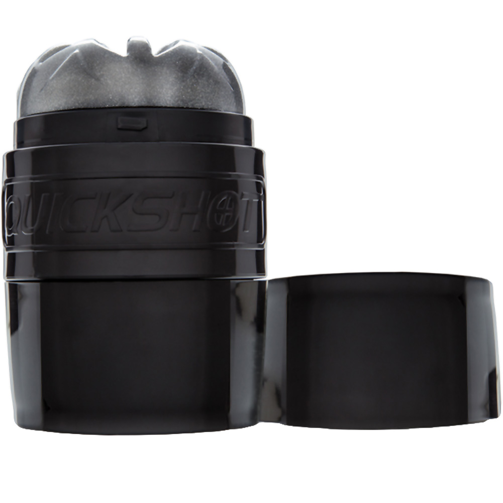 Fleshlight Quickshot Boost Compact Masturbator for Men and Couples Black - View #2