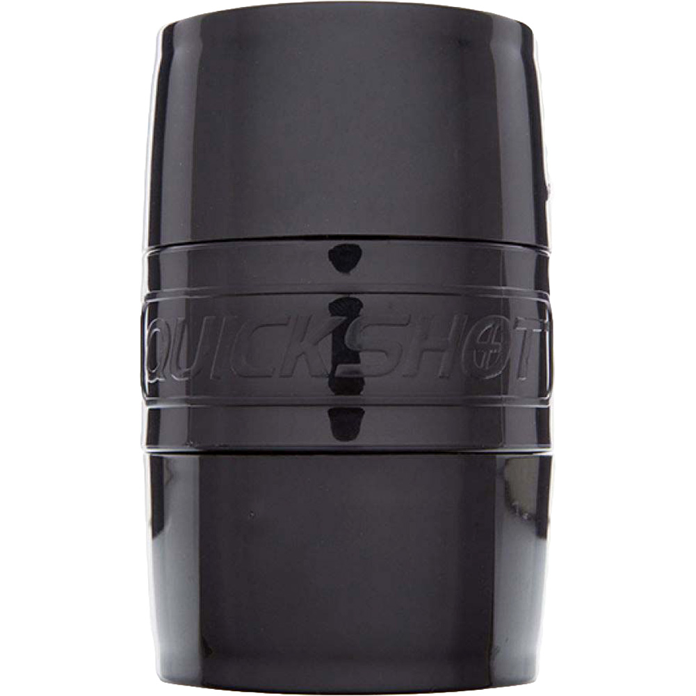 Fleshlight Quickshot Boost Compact Masturbator for Men and Couples Black - View #4