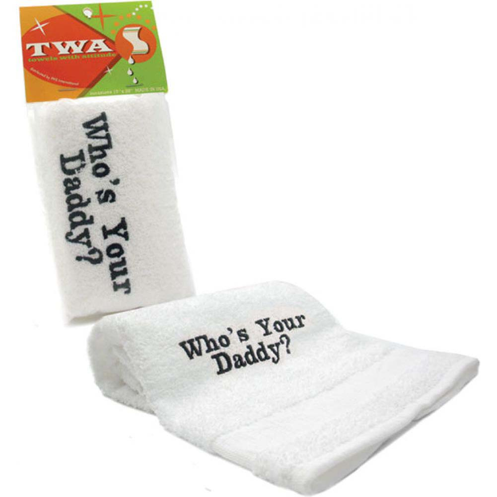 Towel Whos Your Daddy - View #1