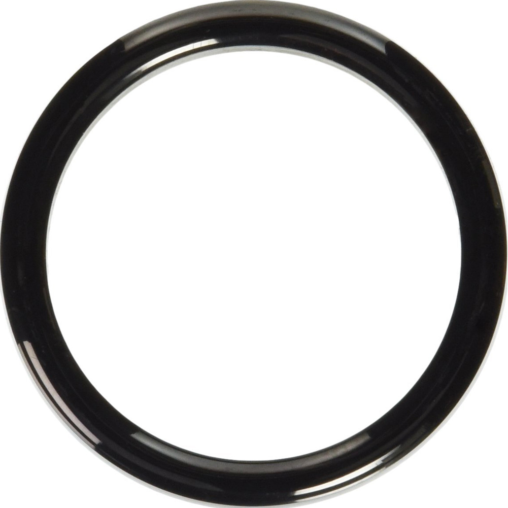 "Metal C-Ring 2"" Black with Stainless Steel Band - View #2"