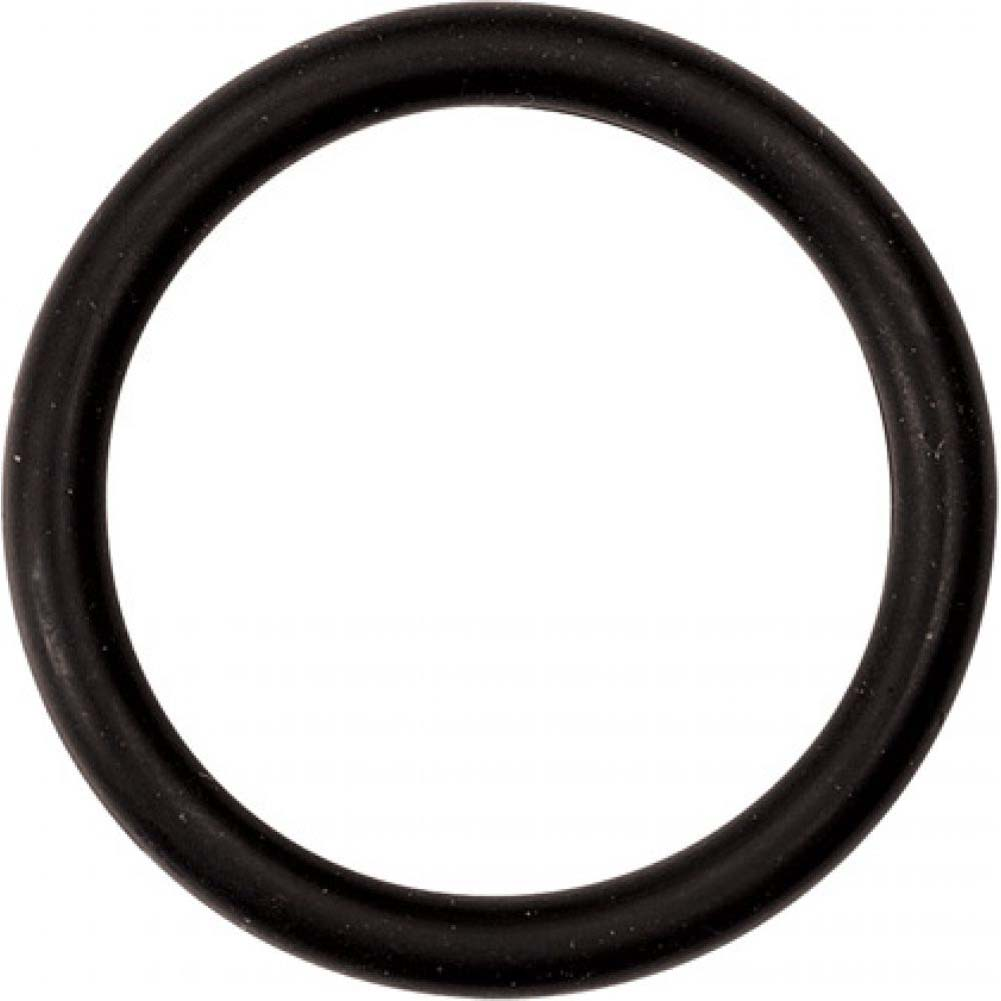 "M2m Nitrile Cock Ring 1.75"" Black - View #2"