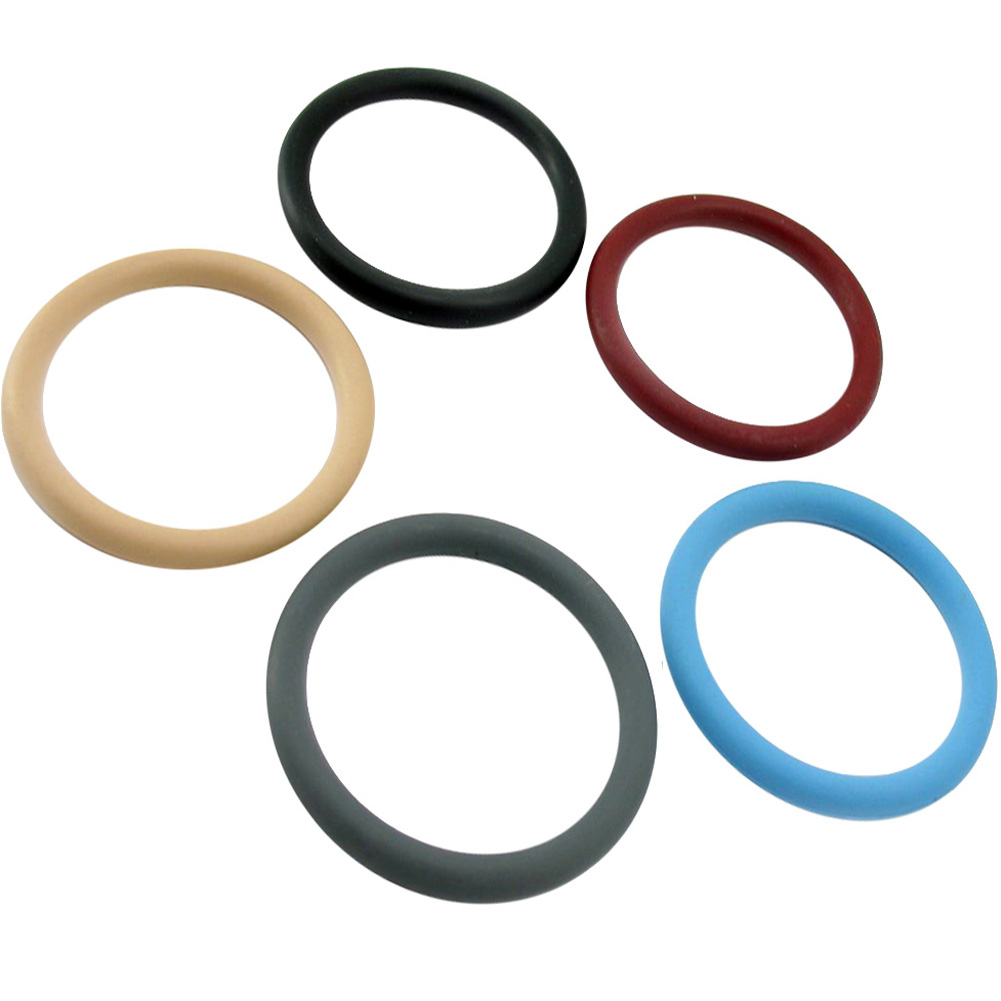 "M2m Nitrile 2"" Cock Ring Assorted 5 Piece Pack - View #2"