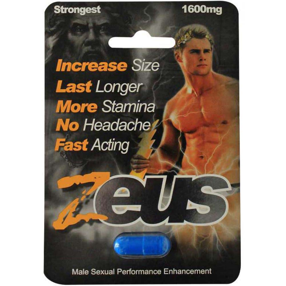 Zeus Male Supplement 1 Piece Pack Open Stock - View #1