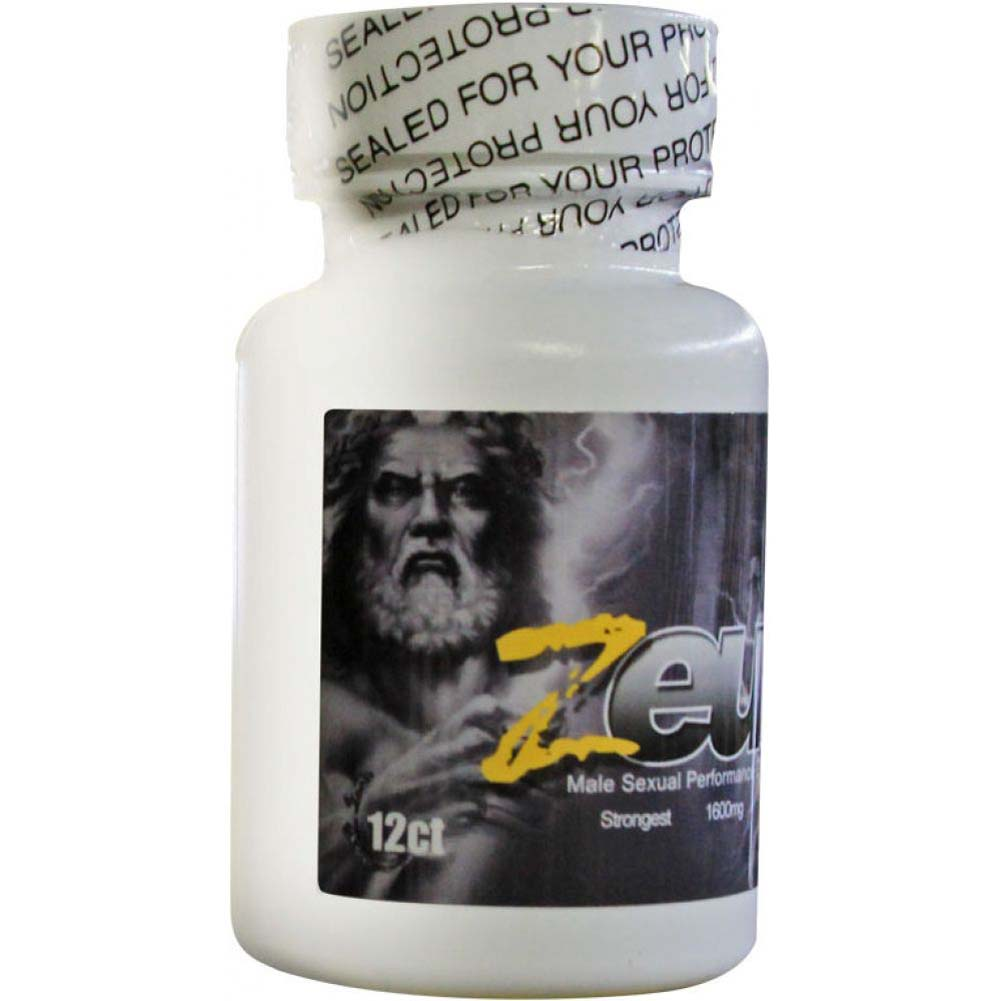 Zeus Male Supplement Bottle 12 - View #1