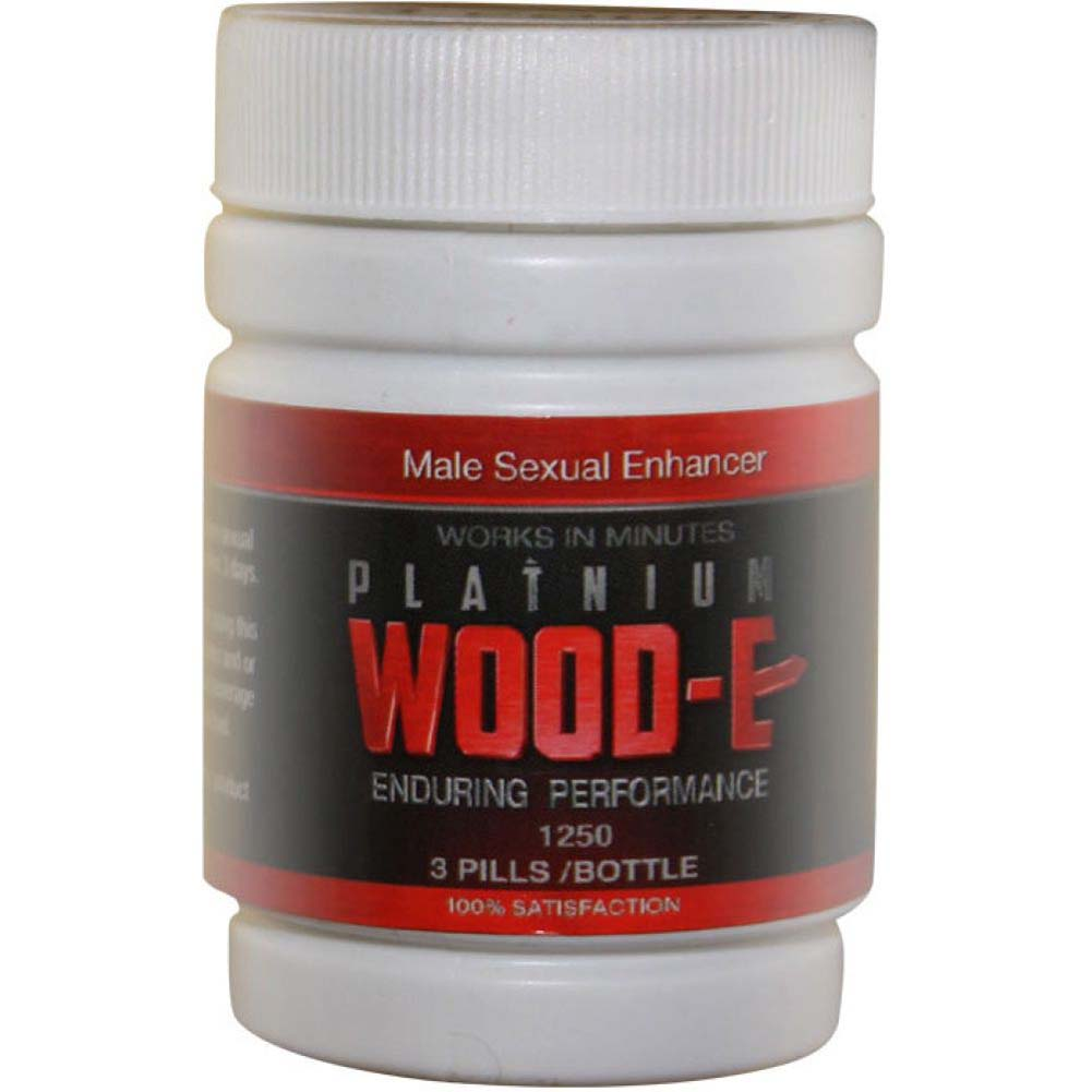 Platinum Wood-E 3 Count Bottle - View #1