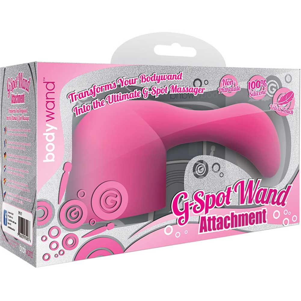 Bodywand Xgen Body Wand G-Spot Attachment Pink - View #1