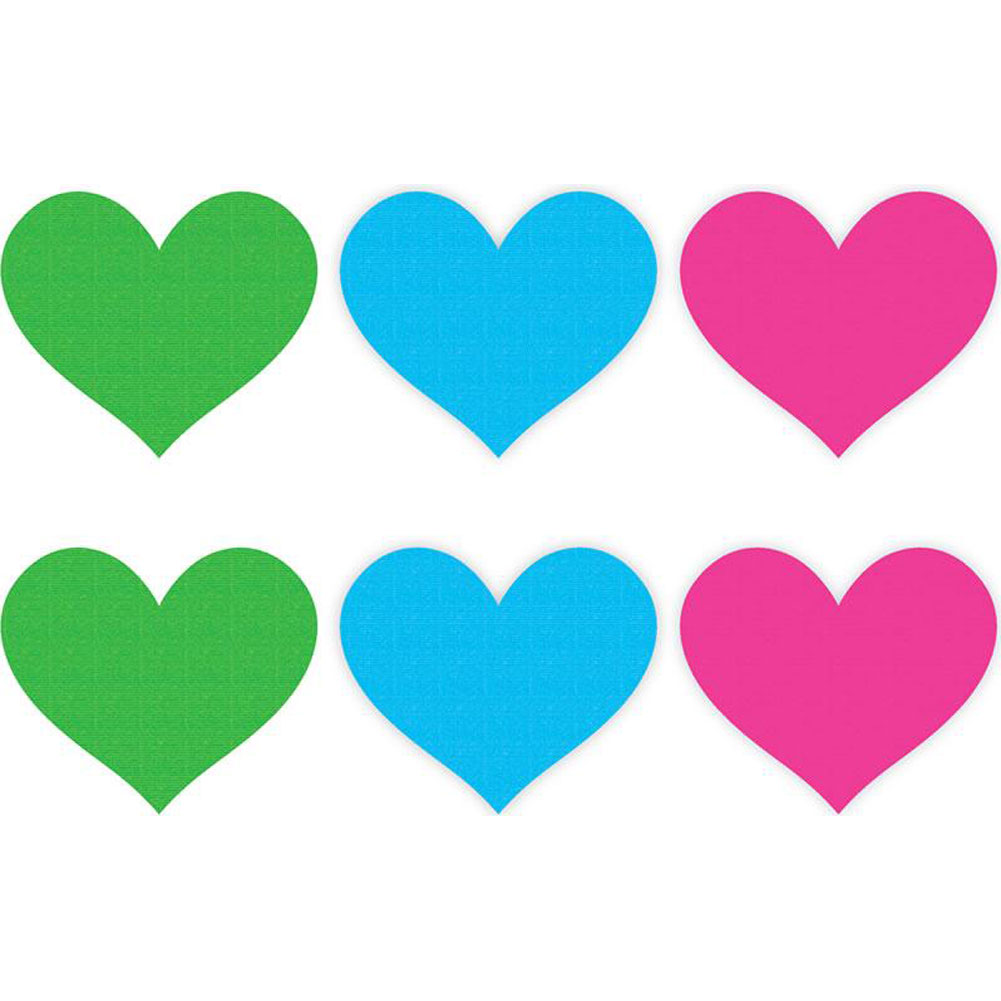 Peekaboos Neon Hearts Value Pack One Size 3 Piece Pack - View #1