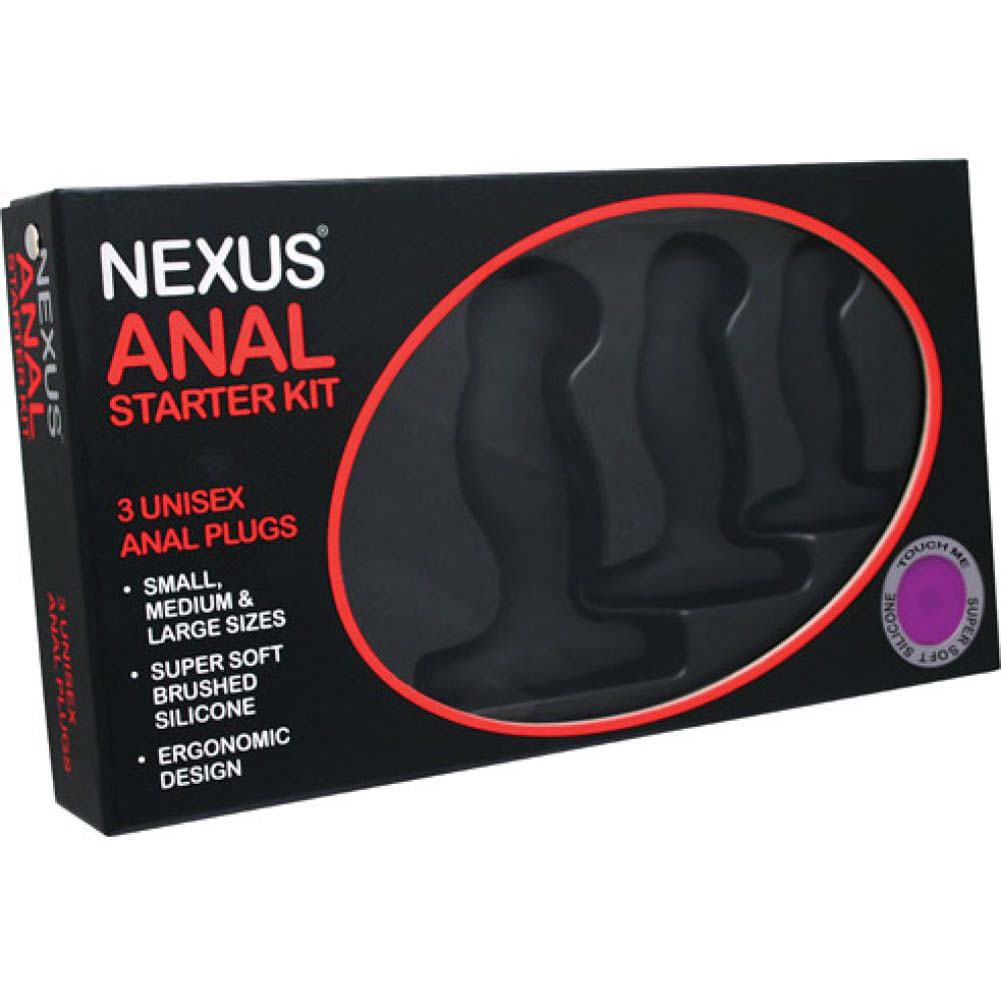 Nexus Anal Starter Kit Black - View #1