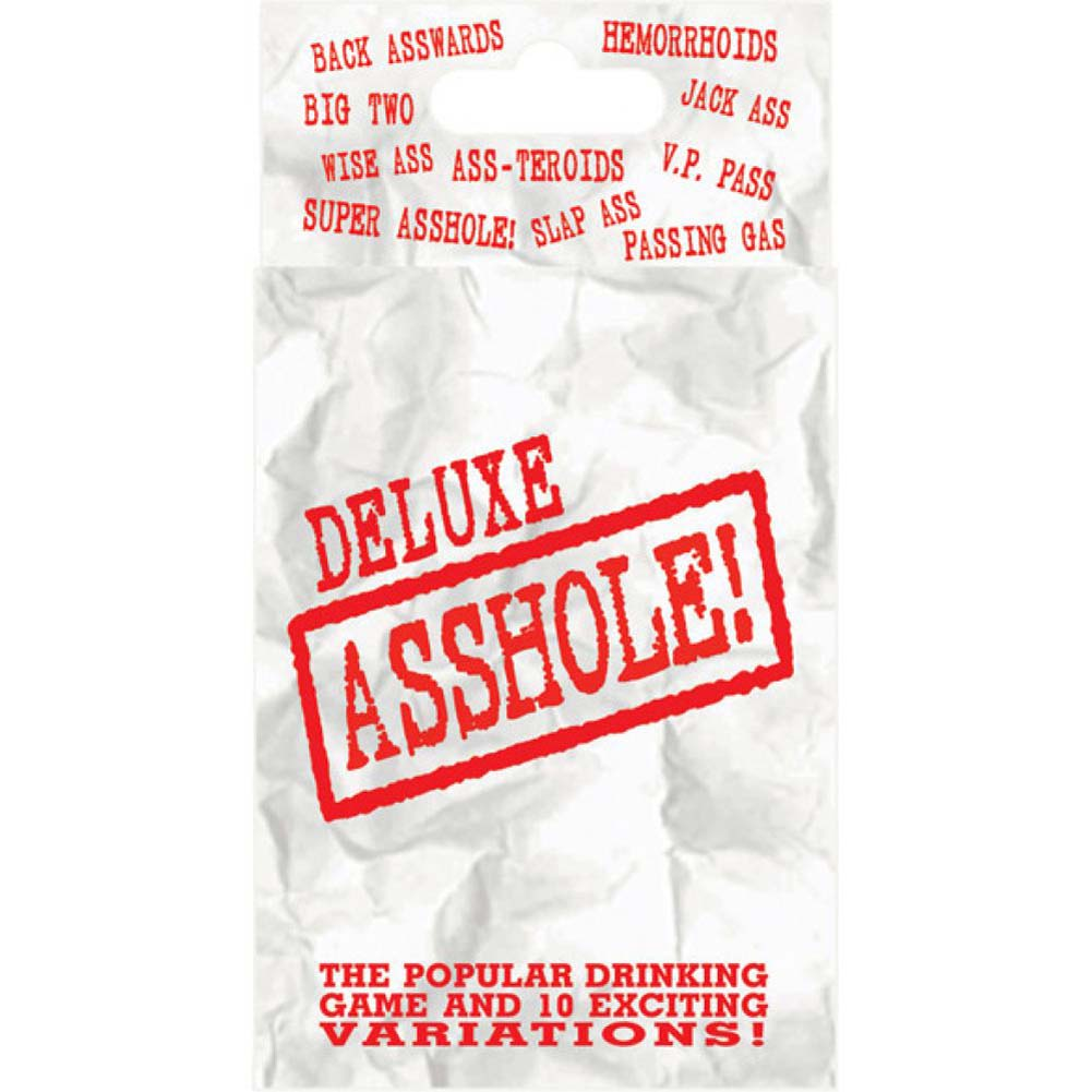 Deluxe Asshole Card Game Poker Size - View #2