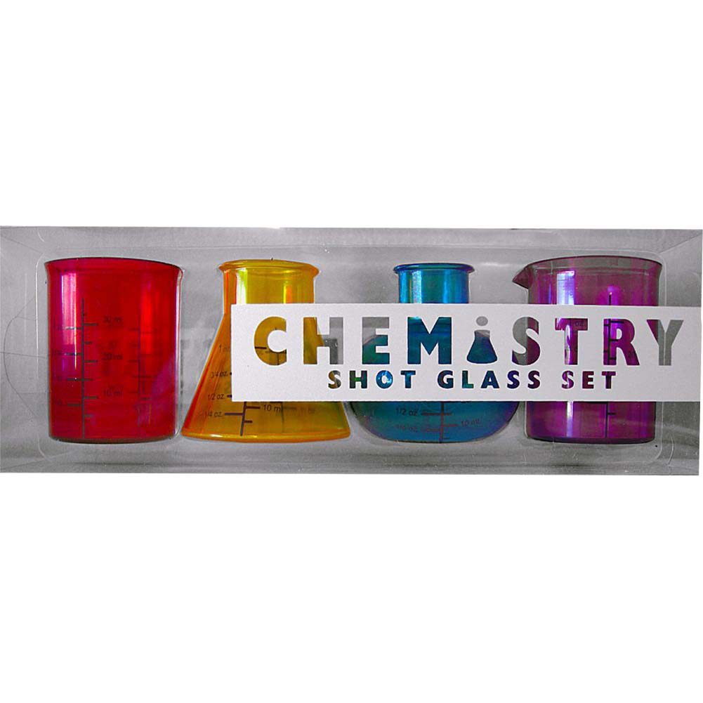 Chemistry Shot Glass 4 Piece Set - View #1