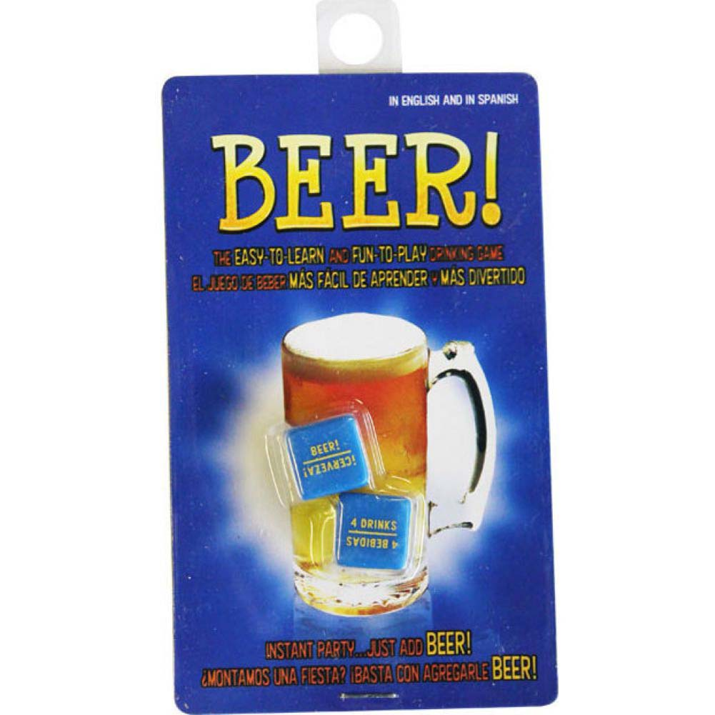Beer Drinking Game Dice From Kheper Games - View #1