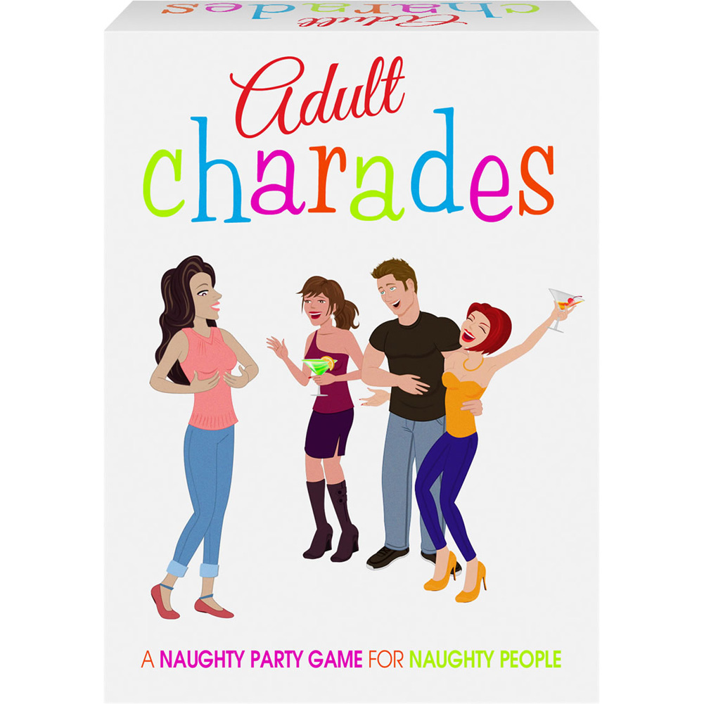 Adult Charades Game - View #1