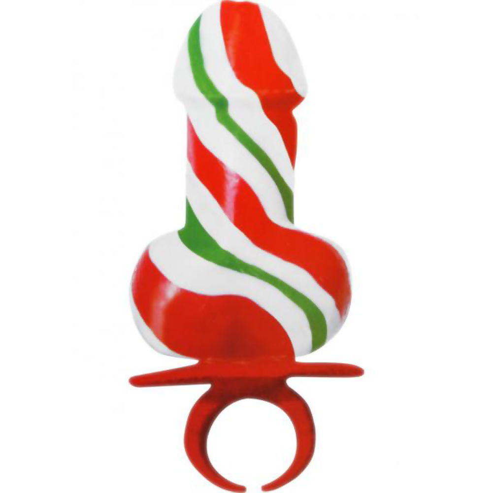 Jingle Balls Holiday Cock Ring Pops 12 Piece Display - View #1