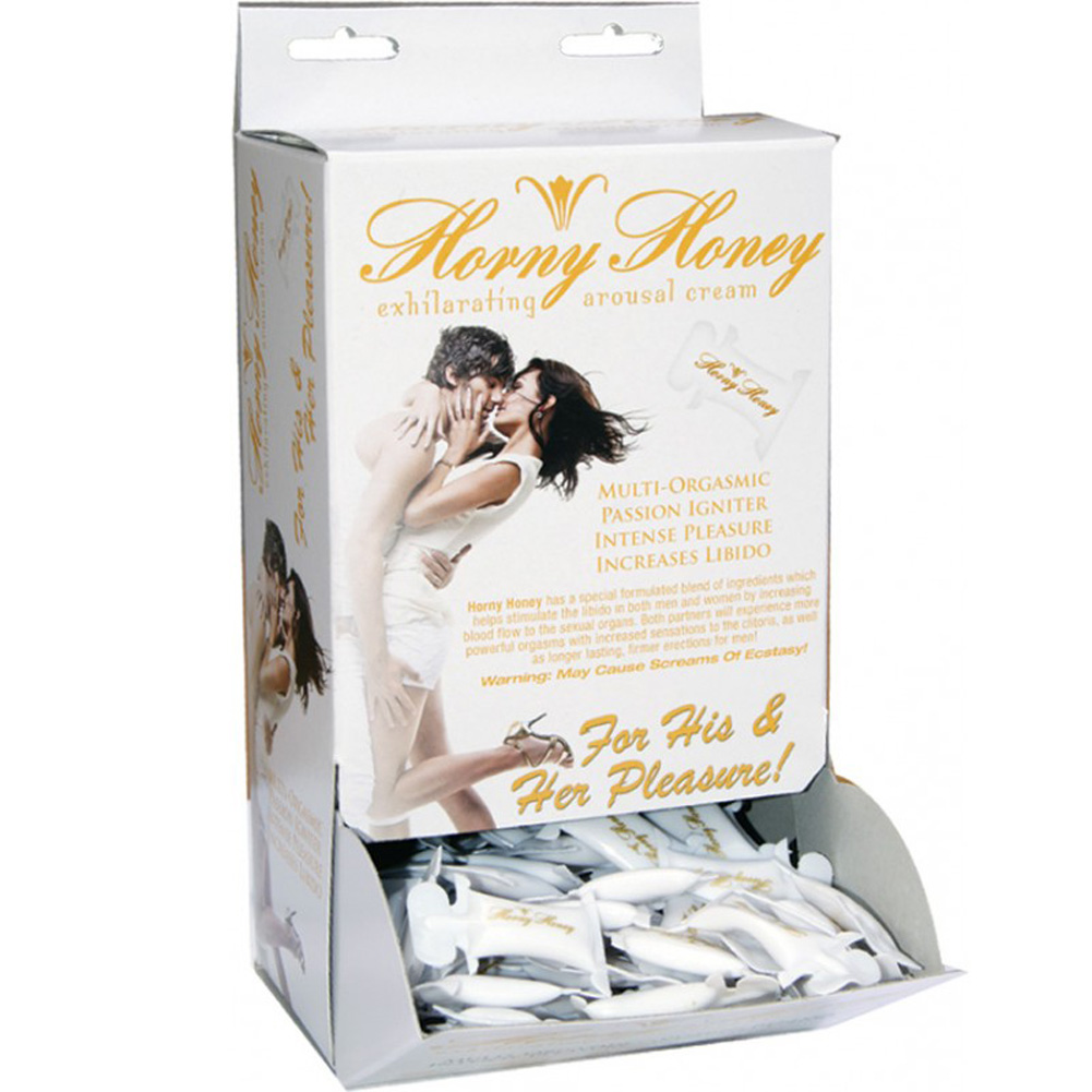 Horny Honey Stimulating Gel for Lovers 2 CC 144 Piece Display - View #2