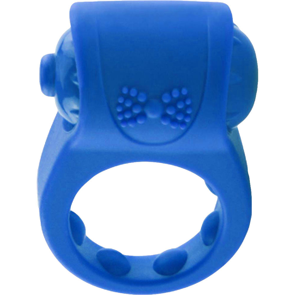 Screaming O Primo Tux Love Ring One Size Blue - View #4