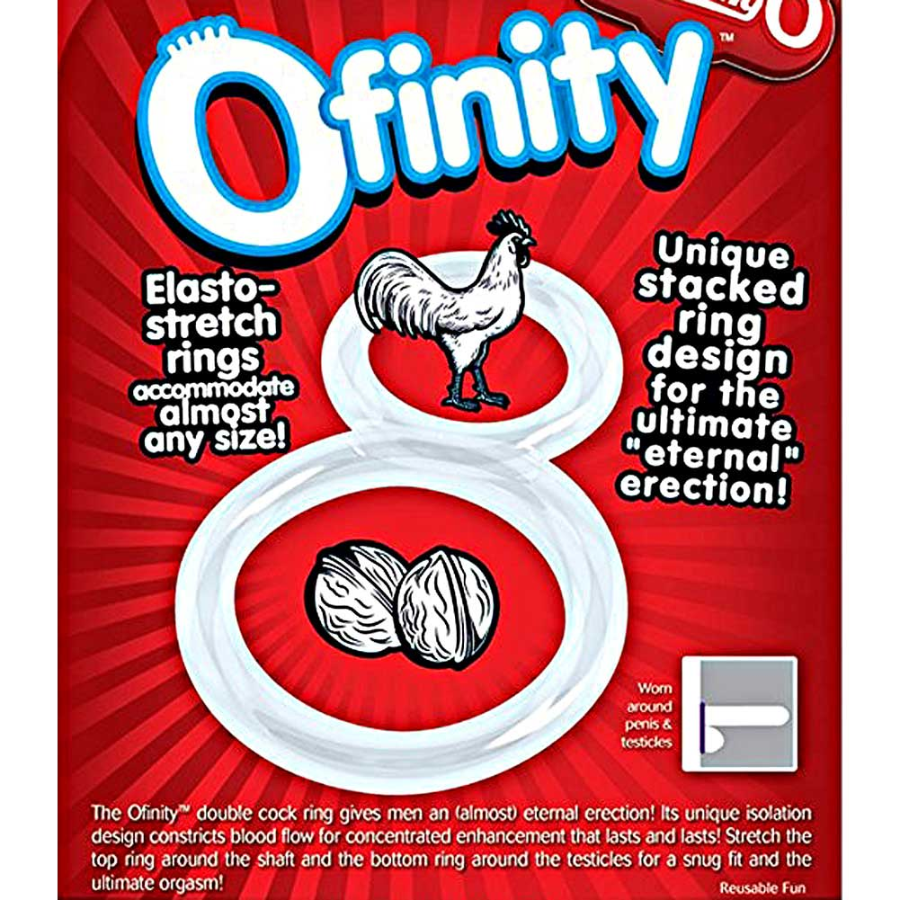 Screaming O Ofinity Erection Ring One Size Crystal Clear - View #3