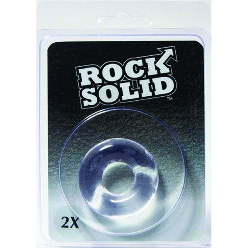 Rock Solid 2 Inch Clear Donut Ring - View #1