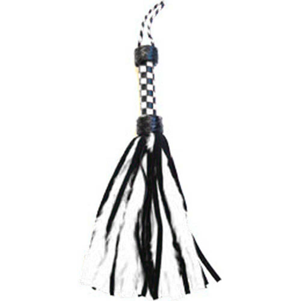 "Ruff Doggie 18"" Petite Fluffy Flogger White - View #1"