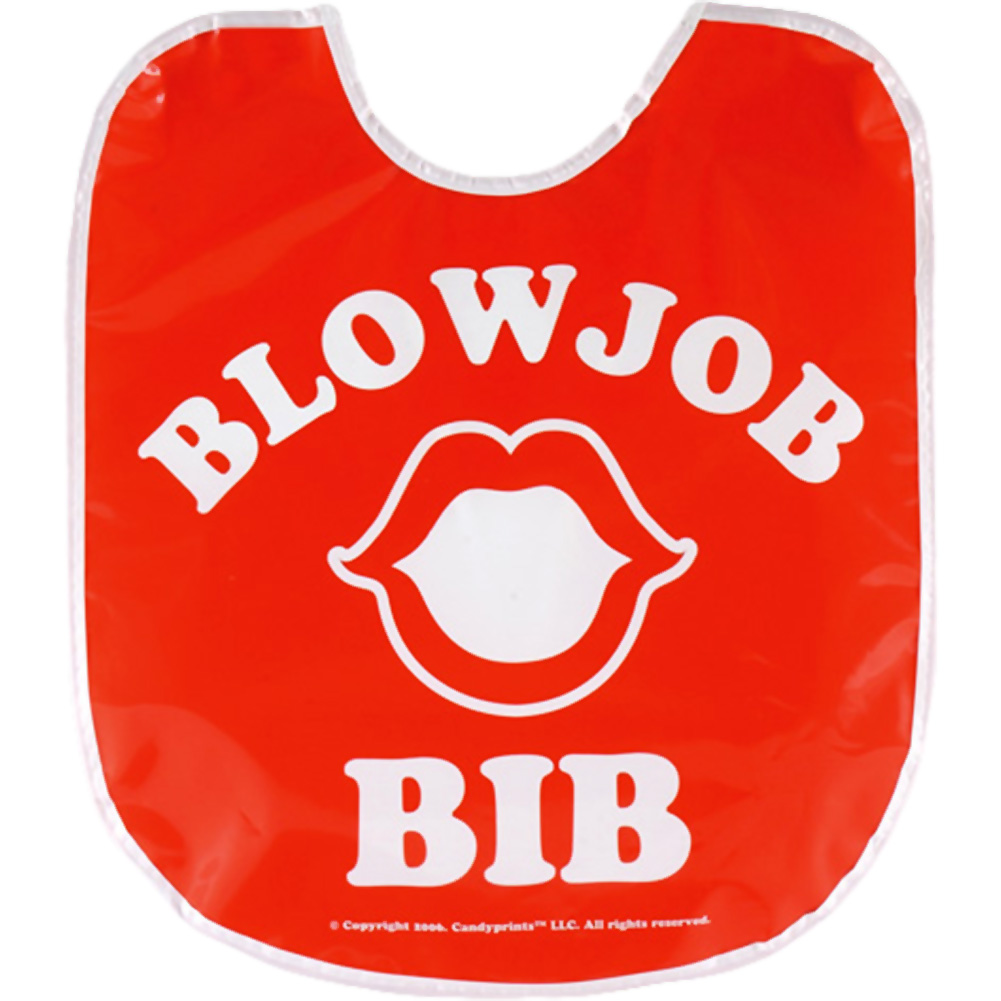 Blow Job Party Bib - View #2