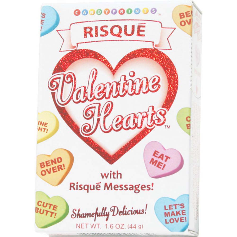 Risque Valentines Sexy Heart Candy 1.6 Ounce Box - View #1