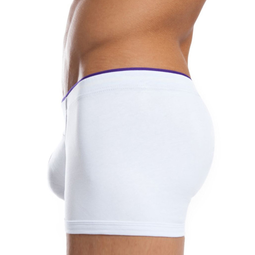 Jack Adams Rugby Boxer Brief White Large - View #2